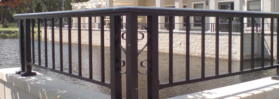 Kwikfynd Aluminium railings 88