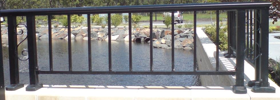 Aluminium railings 89