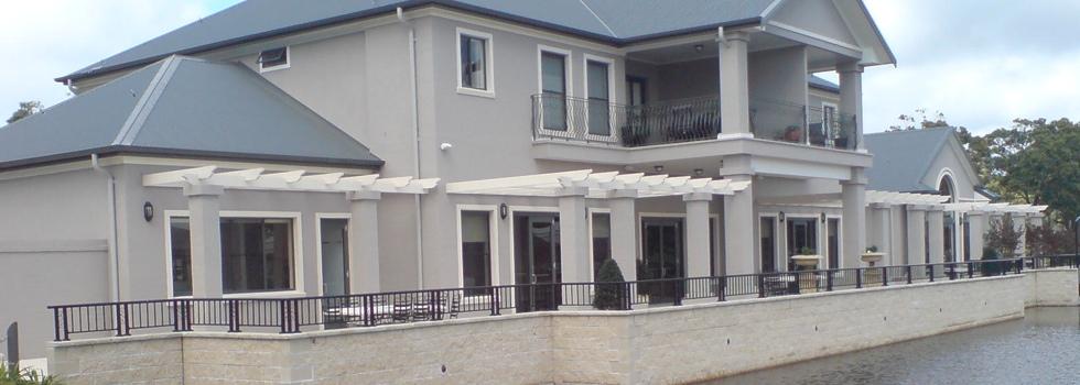 Aluminium railings 94