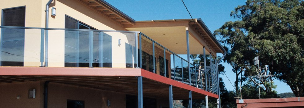 Aluminium railings 95