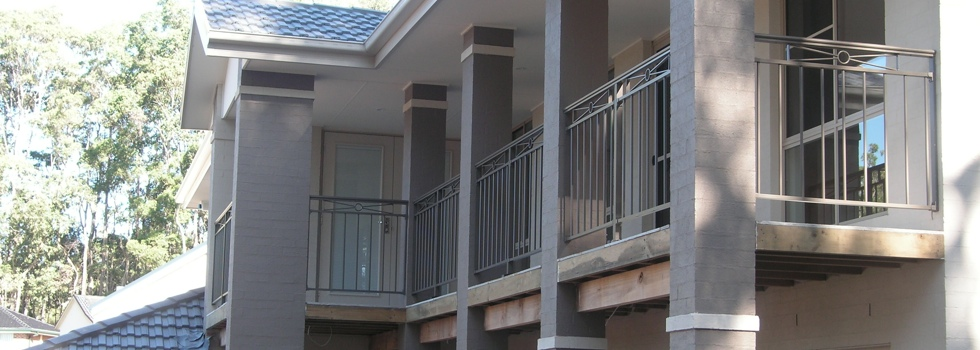 Balcony balustrades 120
