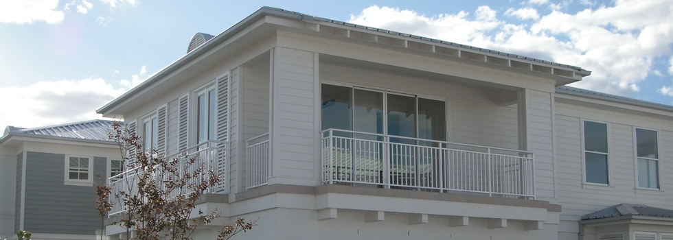 Balcony balustrades 48