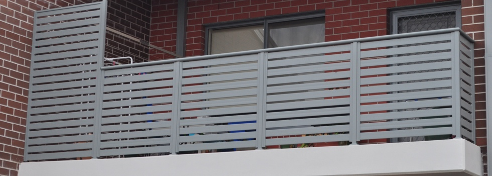 Balcony balustrades 55