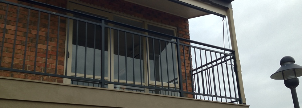 Balcony railings 108