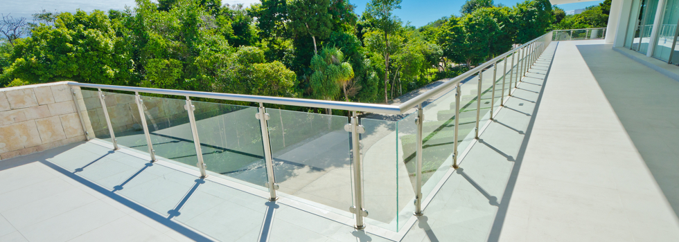 Glass balustrades 47
