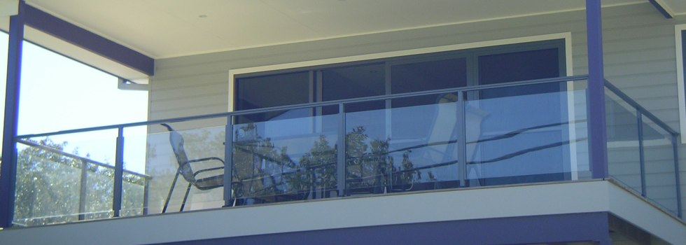 Glass balustrades 54