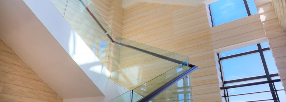 Glass balustrades 56