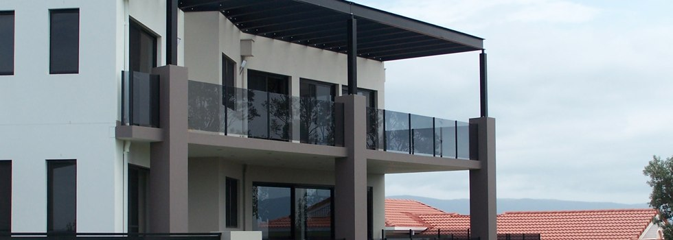 Glass balustrades 61
