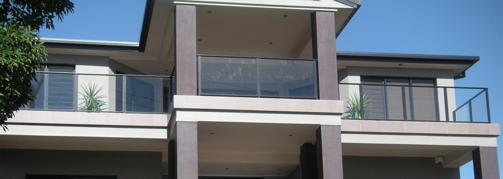 Glass balustrades 63