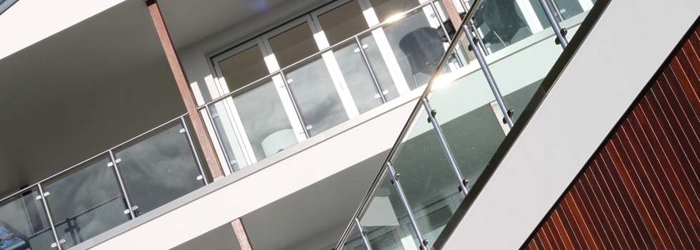 Glass balustrades 70