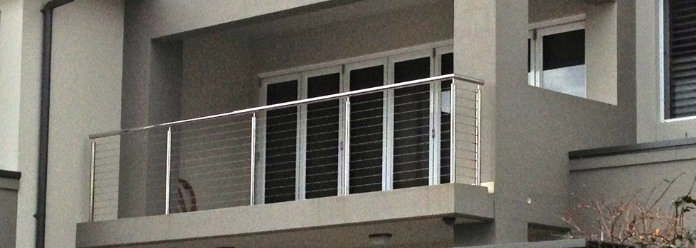 Stainless wire balustrades 1