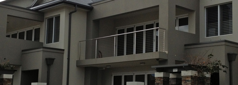Stainless wire balustrades 2