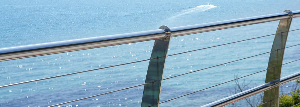 Stainless wire balustrades 6