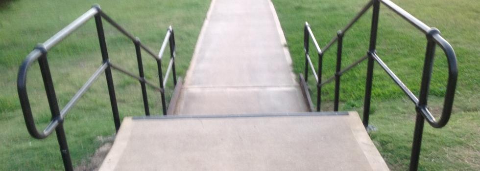 Stair balustrades 1